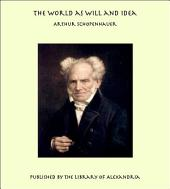 The World as Will and Idea: Volume 2
