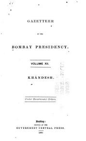 Gazetteer of the Bombay Presidency PDF