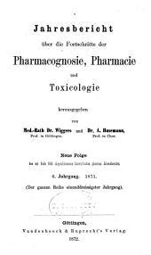 Jahresbericht der Pharmazie: Band 31
