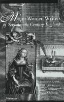 Major Women Writers of Seventeenth century England PDF
