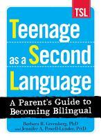 Teenage as a Second Language PDF