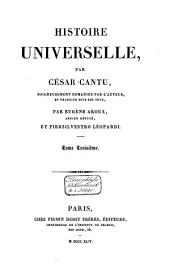 Histoire universelle: Volume3