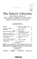 School Librarian PDF