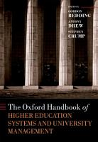 The Oxford Handbook of Higher Education Systems and University Management PDF