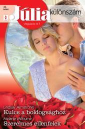 Júlia különszám 40. kötet: Kulcs a boldogsághoz, Szerelmes ellenfelek
