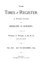The Medical Times and Register PDF