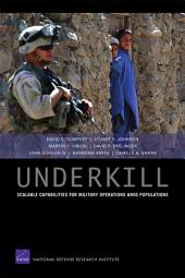 Underkill: Scalable Capabilities for Military Operations amid Populations