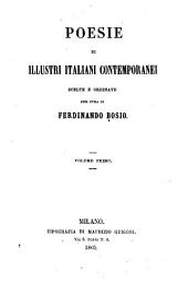 Poesie di illustri italiani contemporanei