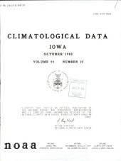 Climatological data: Iowa, 第 94 卷,第 10 期