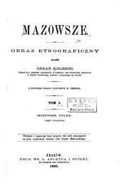 Mazowsze: obraz etnograficzny, Tomy 1-2