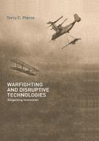 Warfighting and Disruptive Technologies PDF