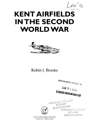 Kent Airfields in the Second World War