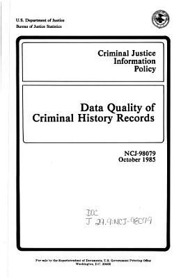 Criminal Justice Information Policy PDF
