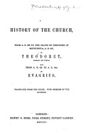 A History of the Church from A D  322 to the Death of Theodore of Mopsuestia  A D  427 PDF