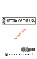 Teach Yourself Instant Reference History of the USA PDF