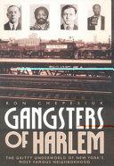 Gangsters of Harlem PDF