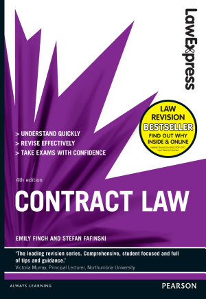 Law Express  Contract Law  Revision Guide