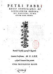 Petri Fabri ... Semestrium liber primus: Volume 1, Page 1