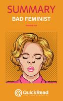Bad Feminist by Roxane Gay  Summary  PDF