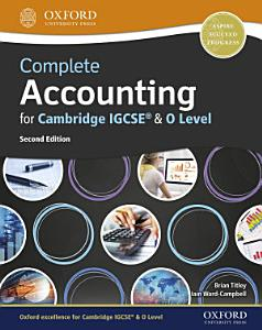 Complete Accounting for Cambridge IGCSE   O Level PDF