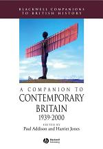 A Companion to Contemporary Britain 1939 - 2000