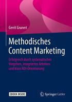 Methodisches Content Marketing PDF