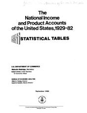 The National Income and Product Accounts of the United States  1929 82 PDF
