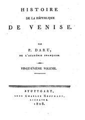 Histoire de la République de Venise: Volumes21à24