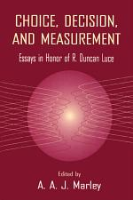Choice, Decision, and Measurement