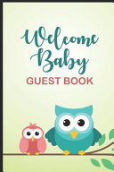 Welcome Baby Guest Book PDF