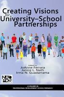 Creating Visions for University  School Partnerships PDF