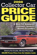 2008 Collector Car Price Guide