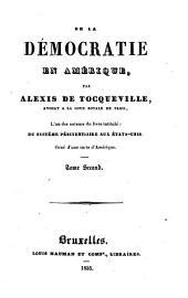 De la démocratie en Amérique: Volumes1à2