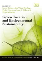Green Taxation and Environmental Sustainability PDF
