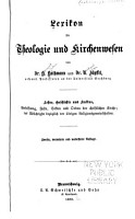Lexikon f  r Theologie und Kirchenwesen PDF