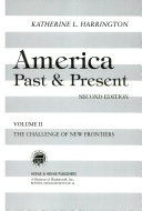 America  Past   Present  The challenge of new frontiers PDF