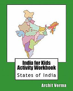 India for Kids Activity Workbook Book