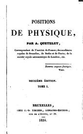 Positions de physique