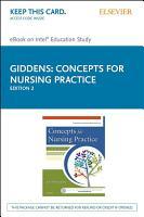 Concepts for Nursing Practice   E Book PDF