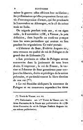 HISTOIRE DE POLOGNE.