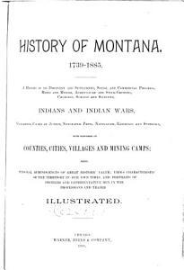 History of Montana  1739 1885 PDF