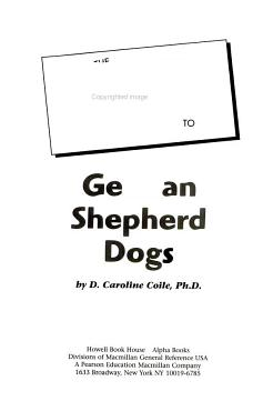 The Complete Idiot s Guide to German Shepherd Dogs PDF