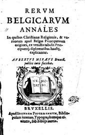 Rerum Belgicarum Annales