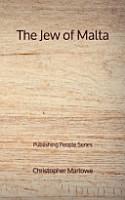 The Jew of Malta   Publishing People Series PDF