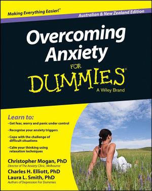 Overcoming Anxiety For Dummies   Australia   NZ