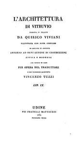 L'architettura di Vitruvio: Volumi 9-10