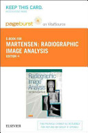 Radiographic Image Analysis Pageburst on Vitalsource Retail Access Code PDF