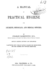 A Manual of Practical Hygiene for Students Physicians and Medical Officers PDF