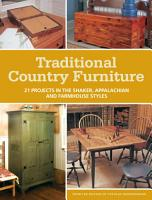 Traditional Country Furniture PDF