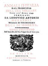Annali d'Italia, dal principio dell'era volgare sino all'anno: Volume 11
